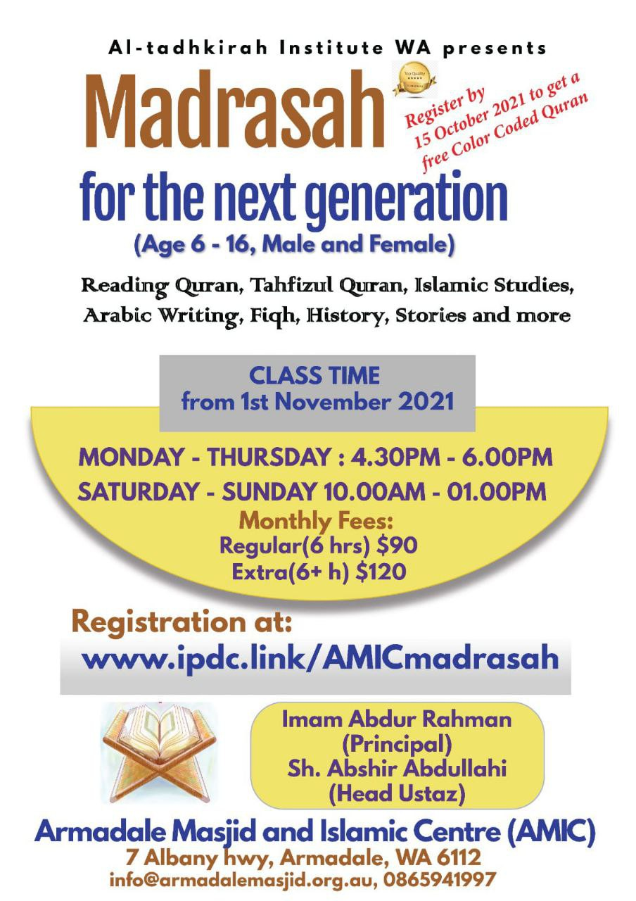 AMIC Islamic Studies for youth