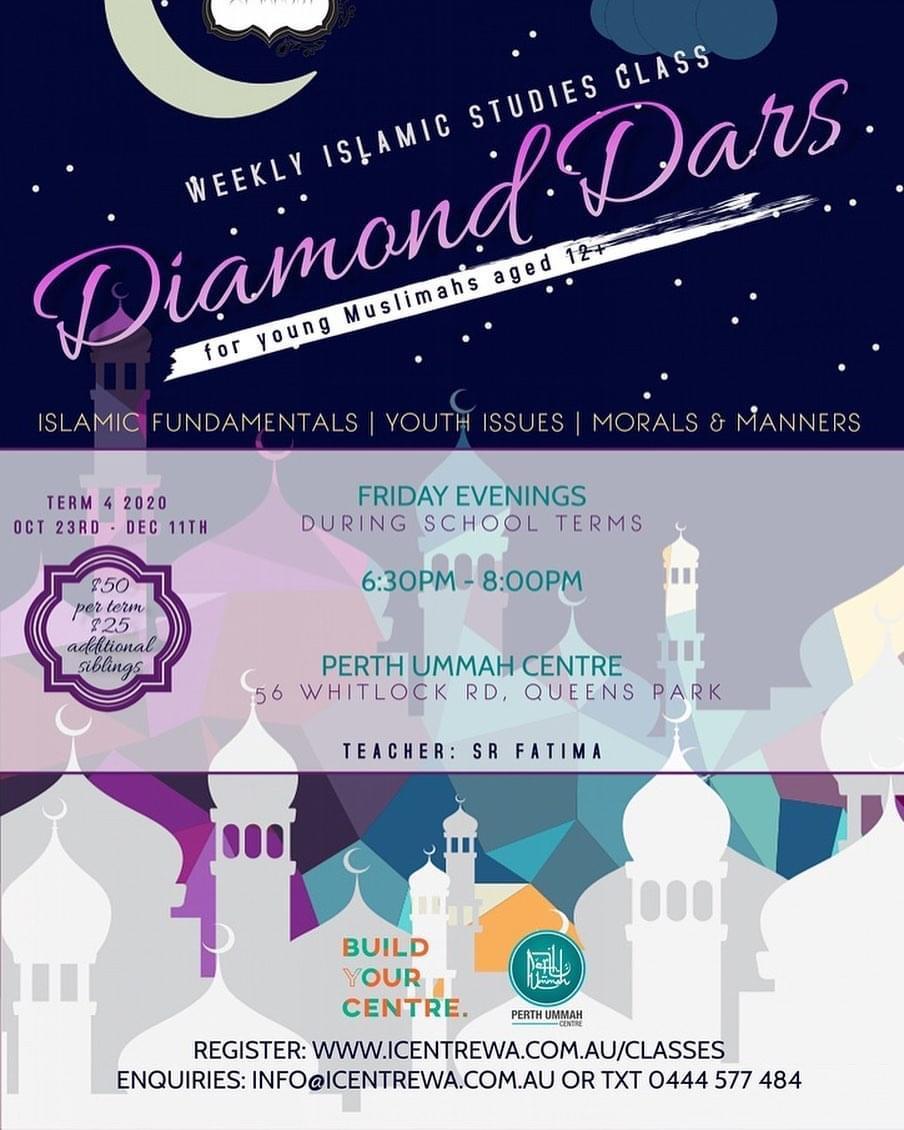 Diamond Dars – Friday girls classes