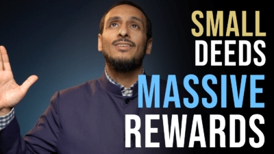 Small Deeds Massive Reward