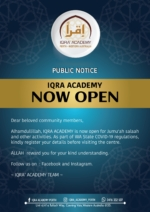 CANNING VALE – IQRA' Academy