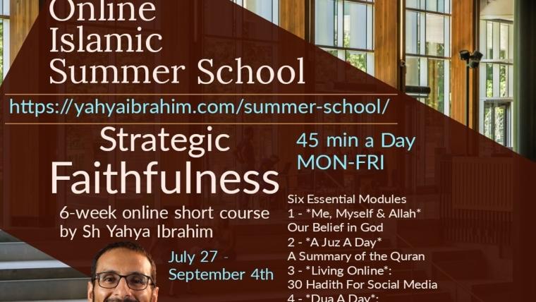Online Islamic Summer School