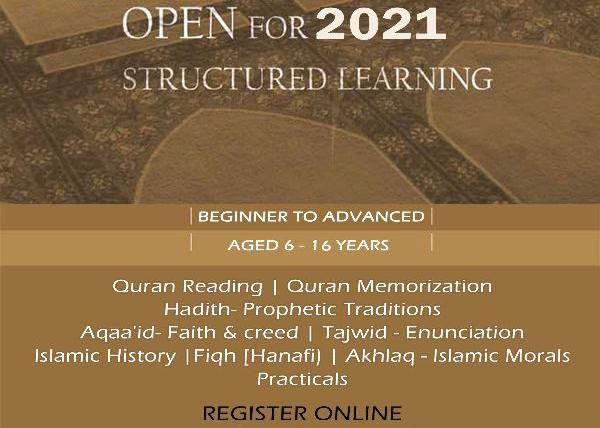 Maktab Structured Learning – 2021 Enrollments