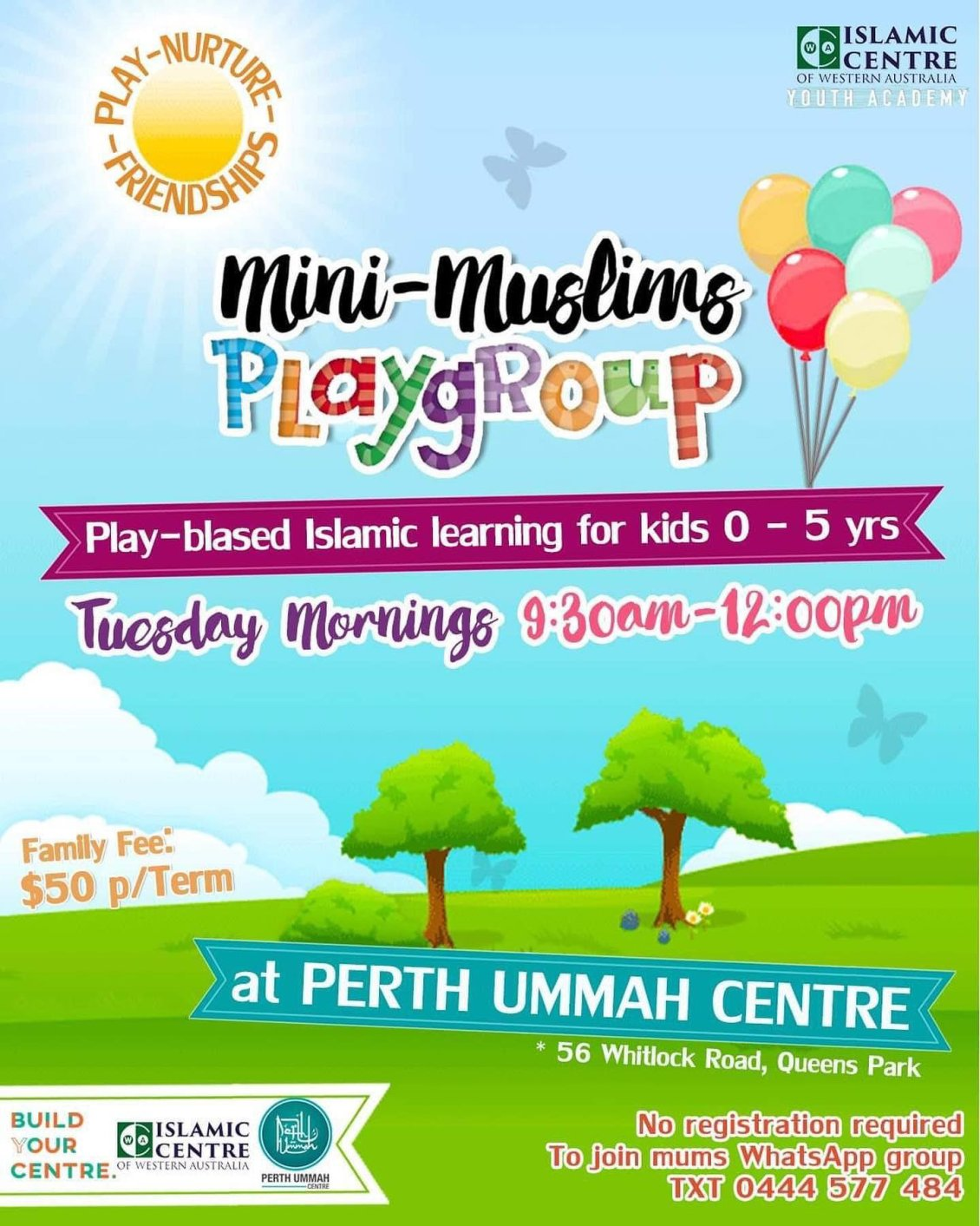 Mini Muslims Playgroup